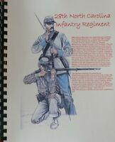 Civil War History of the 28th North Carolina Infantry Regiment