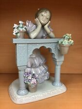 "Lladro ""A Perfect Day"" Porcelain Figurine Spain #06480 Nib"