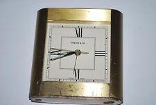 TIFFANY & Co Alarm Clock Brass Quartz 1991 MTV Music Awards  As-Is
