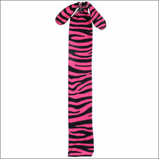 Pink Black Zebra Print Lycra Tail Bag Tough 1 New Horse Tack Grooming Equine