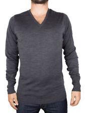Jerséis y cárdigan de hombre en color principal gris de punto