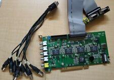 Eyemax CS16 Conexant Fusion 878A 16 Channel PCI DVR CCTV Video Capture Card