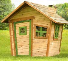 Casetta gioco in legno per bambini, casina legno bambini giardino parco giochi