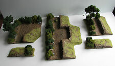World War 2 Mandertory Miniatures resin 28mm Bocage gun Emplacement, Bolt Action
