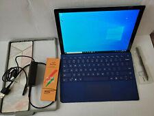 Surface Pro 5 1796 M3 128GB Bundle KB & Pen**Warranty+Mint Battery