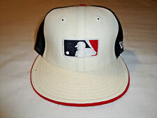 Boston Red Sox MLB Pinwheel Fitted Hat New Era 59Fifty 7 1/4 Red White & Blue