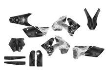 2005 - 2006 KTM SX SXF 125 250 450 525 Graphics kit #6666 Metal Skull