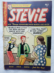 Stevie #2 (Feb. 1953, Magazine Pub.) [GD+ 2.5]