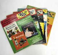 Vintage Little Golden Records 45 rpm 1950's Disney & More Set of 5 Collectible