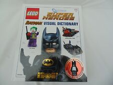 LEGO DC Super Heroes Visual Dictionary: With Exclusive Electro Suit Batman Fig