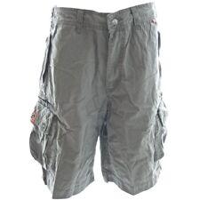 Molecule Cargo Shorts - Beach Bumpers Grau