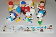 Komplettsatz Steckfiguren EU Peanuts 1999 mit Beipackzettel