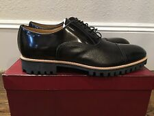850$ Bally Black Polin Laces Up Shoes Size US 13 Made in Switzerland