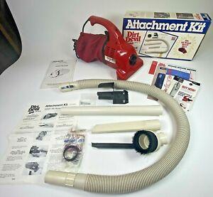 GENUINE Royal Dirt Devil Hand Vac Handheld Vacuum Model 103 with Attachments Box