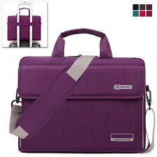 "15.6"" Laptop Notebook Sleeve Case Shoulder Bag Handbag for Lenovo Samsung Purple"
