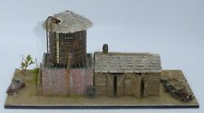 Professionally Built HOn3 Scale 'Water Tower Diorama' - Wonderful Detail