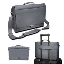Computer Laptop Bag Carry Case Grey Kensington Work Shoulder Messenger Travel