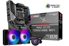 MSI Mag X570 Tomahawk WiFi ATX Motherboard for AMD Am4 CPUs
