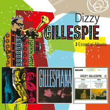 Dizzy Gillespie : 3 Essential Albums CD Box Set 3 discs (2019) ***NEW***