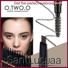 O.TWO.O Waterproof Eyebrow Pen Wand Pencil Brow Artist Brush Kit Blonde Brown