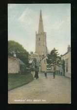 Somerset EAST BRENT Church St c1900/10s? PPC local pub Morse