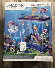 New listing Marina Aquarium Set 2.65 Us ga. (10L) New Out Of Box - 100% Complete- Photos!