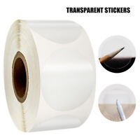 500pcs/Roll clear sticker scrapbooking for package evenlope seal labels sticktb