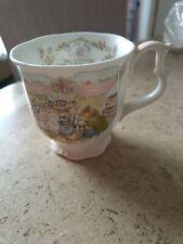 Royal doulton brambly hedge Wedding Mug/beaker