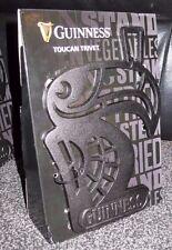 new BOXED GUINNESS  BLACK CAST IRON METAL TOUCAN TRIVET  ( GUINESS GUINNES)