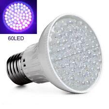 Ultra Bright E27 UV Ultraviolet Color Purple Light 60LED Lamp Bulb 110V Great
