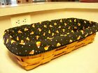 Halloween Bread Basket Liner from Longaberger Candy Corn  Fabric