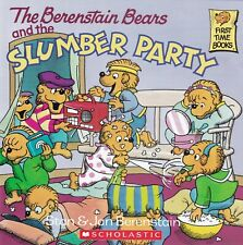 BERENSTAIN BEARS and the SLUMBER PARTY - NEW BOOK