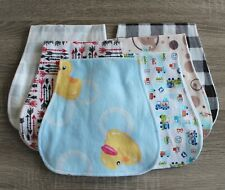 Handmade Cotton Flannel Burp Cloths-Many Prints to Choose From!
