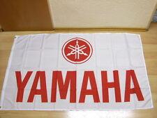 Fahnen Flagge Yamaha Rot - 90 x 150 cm