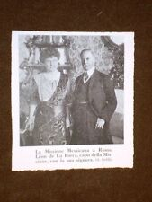 Mexican Mission or Mexico in Rome in 1912 Léon de the bar and Mrs.