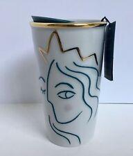Starbucks White Gold Mermaid Anniversary 2017 NEW Mug Cup Siren Coffee Travel