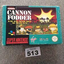 Super Nintendo Snes Cannon Fodder