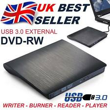 External USB 3.0 Drive DVD±RW CD RW Drive Burner Copier Writer Reader Rewriter
