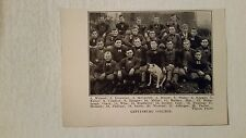 Gettysburg College University PA 1908 Football Team Picture VERY RARE