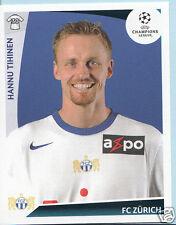 Football autocollant-panini uefa champions league 2009-10 - nº 198-fc zurich