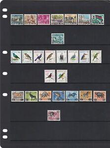 Kenya Stamp Mix As Scans (2 Scans)