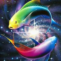 DIY Fish 5D Diamond Painting Full Drill Cross Sticth Art Embroidery Gift Kits