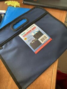 SMALL ZIPPER COURIER BAG FOR ALL NEEDS -TRAVEL-WORK-TOOLS-SCHOOL ONLY $1