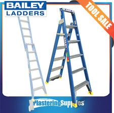 Bailey Dual Purpose Fibreglass Ladder 7 Step 2.1m | 3.5m 150kg FS13669