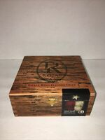 Rojas Robusto Hand Made Empty Wooden Cigar Box Humidor With Clasp