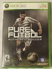 Xbox 360 Pure Futbol Authentic Soccer Video Game 2010 Sports