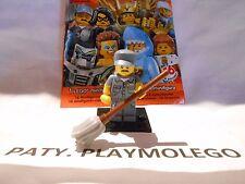 Ref.71011 MINI FIGURINE LEGO LE BALAYEUR N°19 - Série N°15