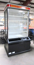 Bakery Showcase Donuts Bagels Pastry Glass Display Case Led Lighting Dry