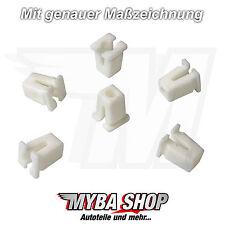 10x Universal Spreizmutter Clips für Karosserie in Weiß | 867809966