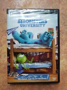 Disney Pixar Monsters University DVD New/Sealed